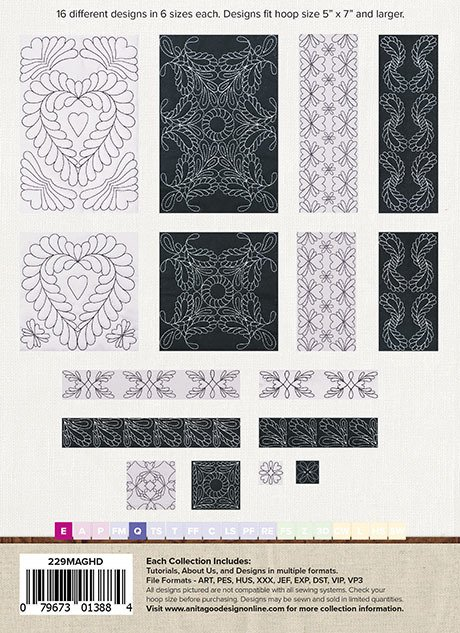 Traditional Feathers Quilt Mini Mix & Match Quilting Collection