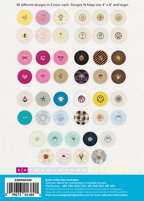AGD Covered Buttons Mini Collection