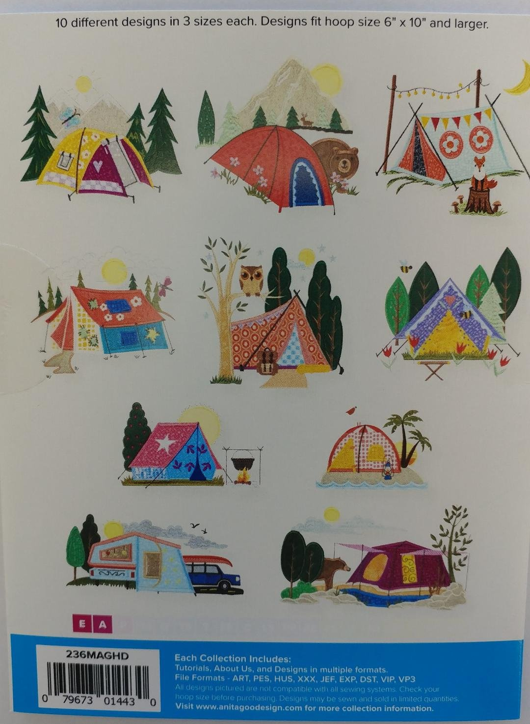 AGD Camping Tents Mini Collection