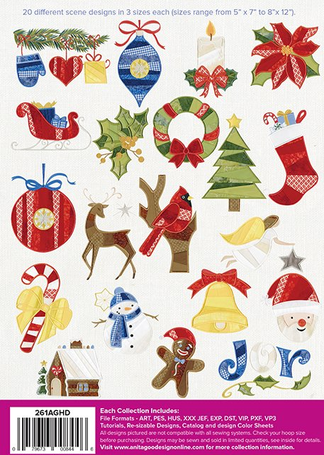Paper Piecing Christmas