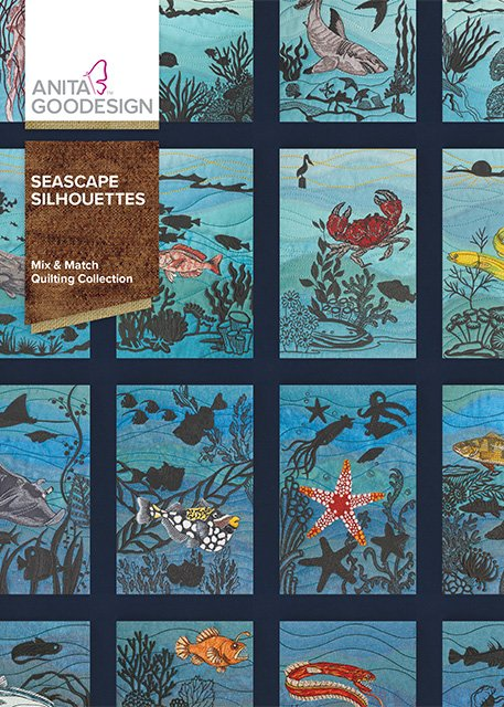 Seascapes Silhouettes Mix & Match Quilting Collection