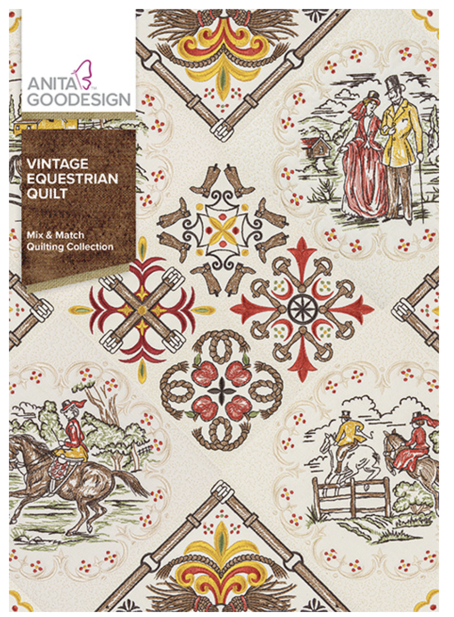 Vintage Equestrian Quilt Mix & Match Quilting Collection