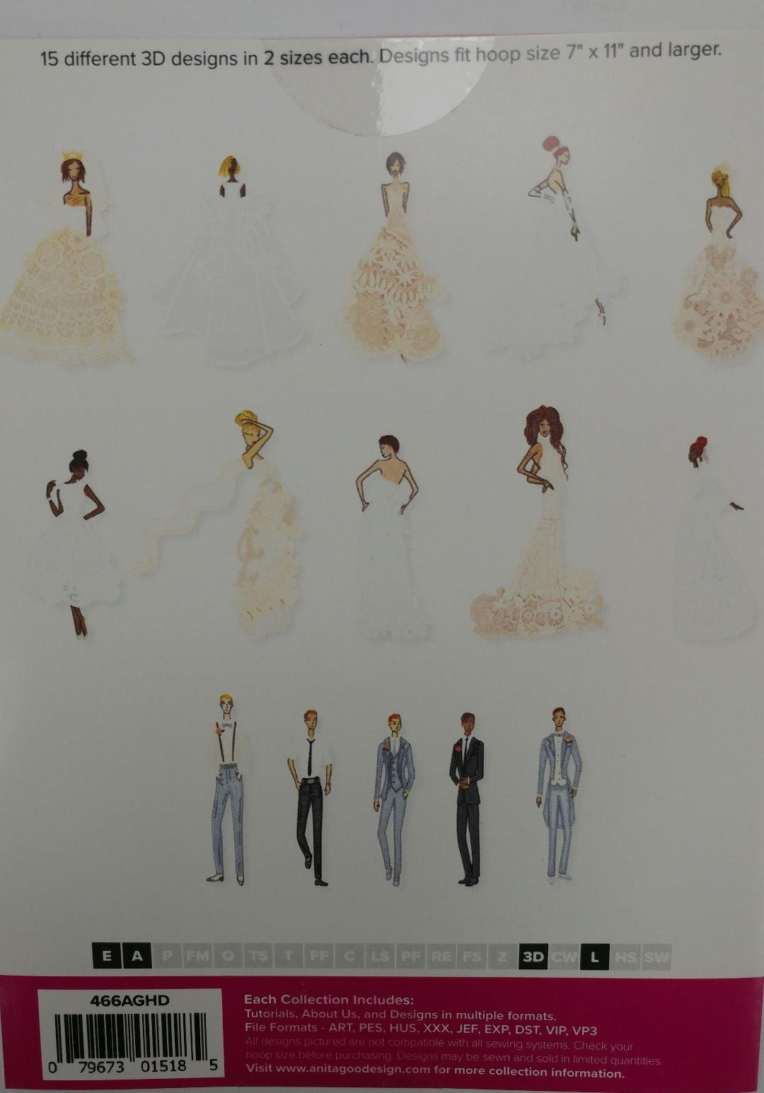 AGD Lace Bridal Figures Full Collection