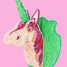 Tula Pink Unicorn Trophy