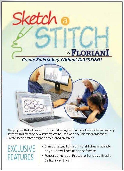 Floriani Sketch a Stitch