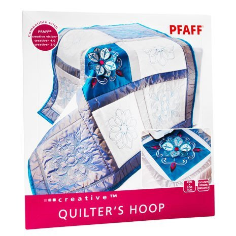 Pfaff Hoop 200 x 200 Quilter's (ICON, Sensation, Vision Series, Creative 4.5, 4.0, 3.0, 2.0, 1.5 and Creative Performance)