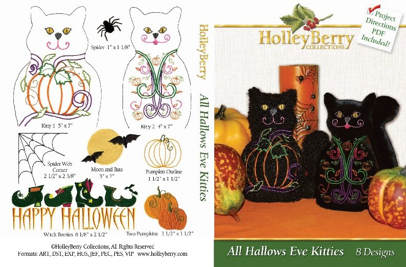 All Hallows Eve Kitties Digital Download