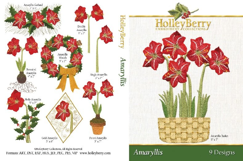 Amaryllis Digital Download