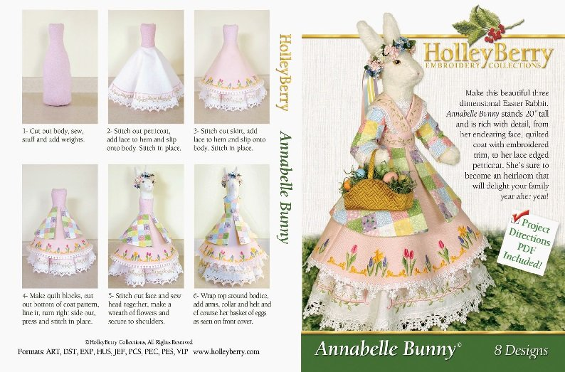 Annabelle Bunny Digital Download