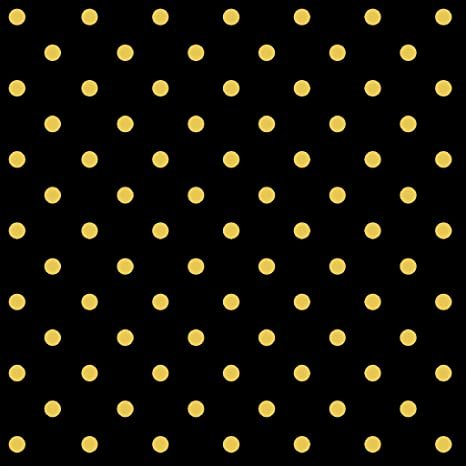 Dark Romance Gold Dot - Black