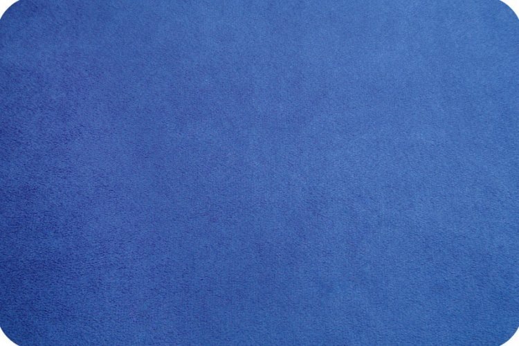 Cuddle Solid Electric Blue