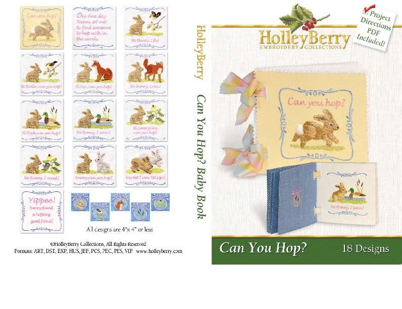 Can You Hop? Soft Book Digital Download