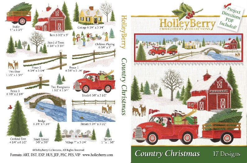 Country Christmas Digital Download
