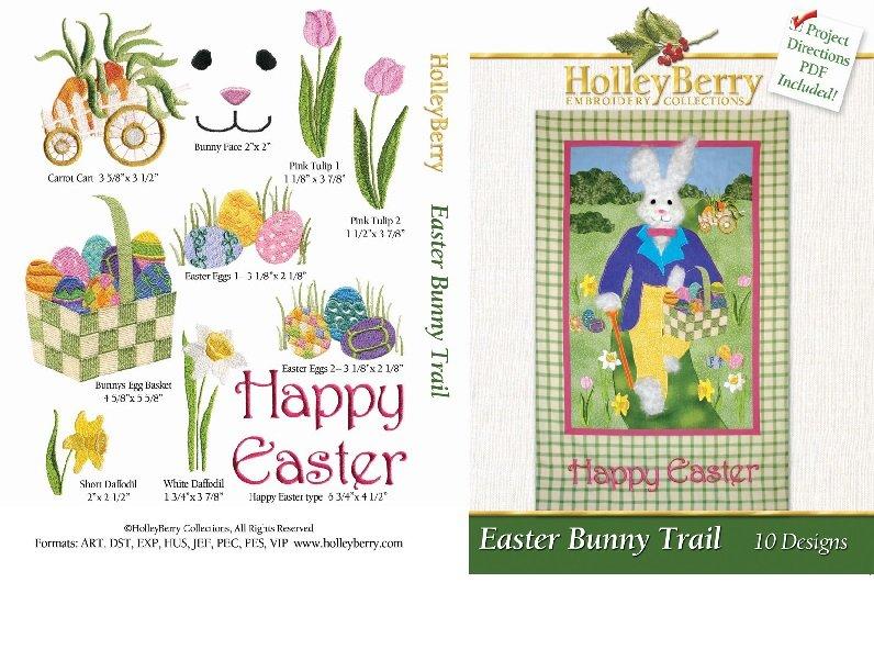 Easter Bunny Trail Digital Download
