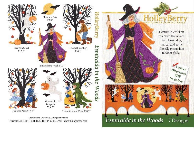 Esmiralda in the Woods Digital Download