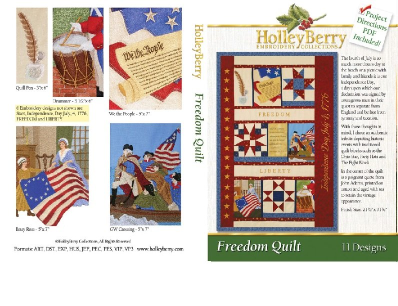 Freedom Quilt Digital Download