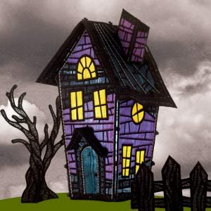 Freestanding Lace Haunted House 2