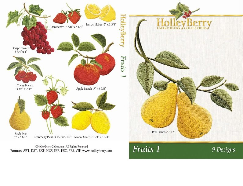 Fruits Digital Download