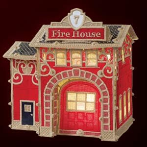 OESD Christmas Village: Firehouse - 12647