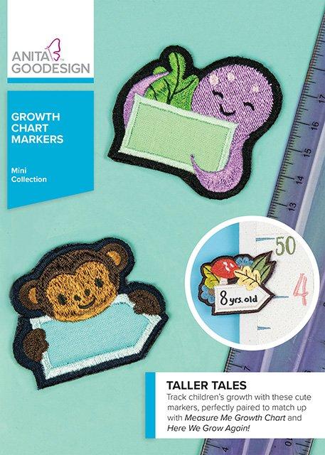 Anita Goodesign Growth Chart Markers