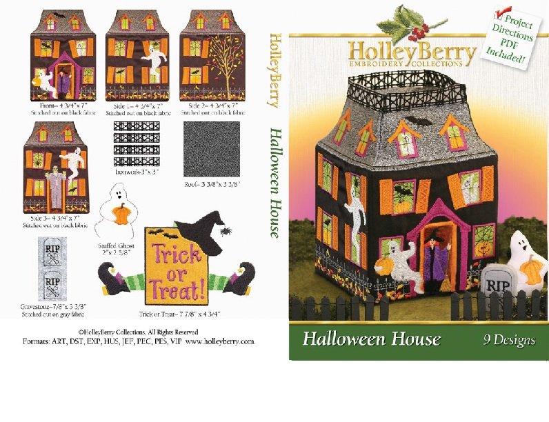 Halloween House Digital Download