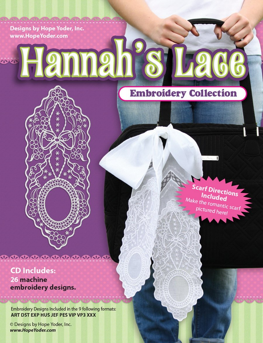 Hannah's Lace Embroidery Collection