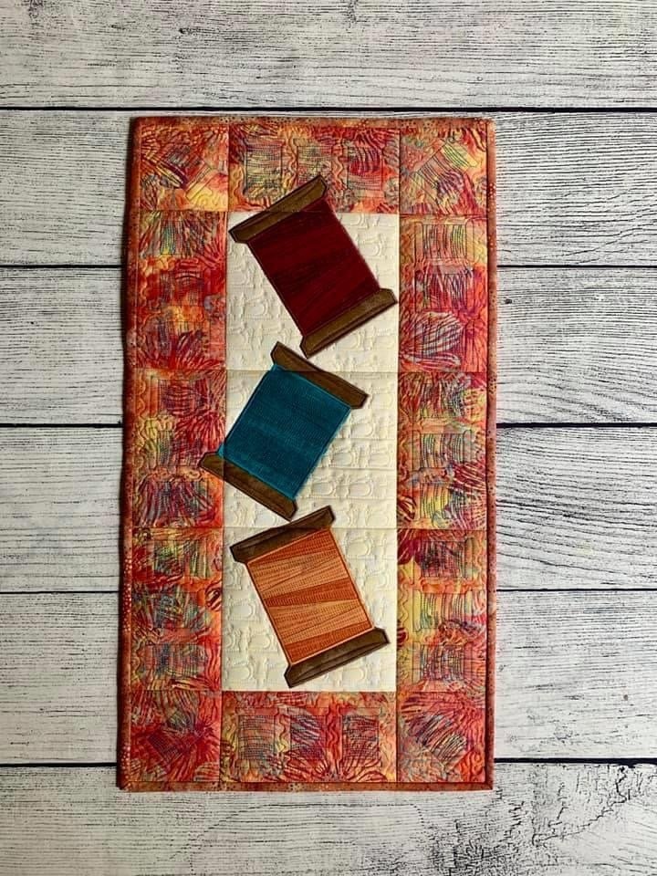 Threads Up Wallhanging CD