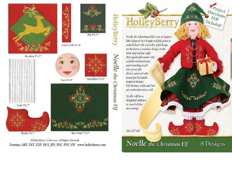 Noelle the Christmas Elf Digital Download