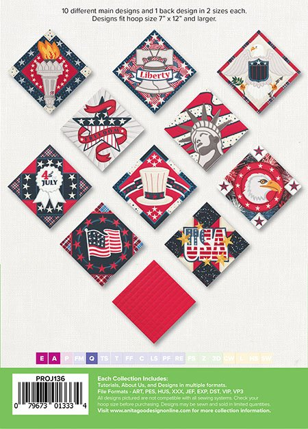 Patriotic Trivets Projects Collection