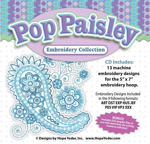 Pop Paisley Embroidery Collection