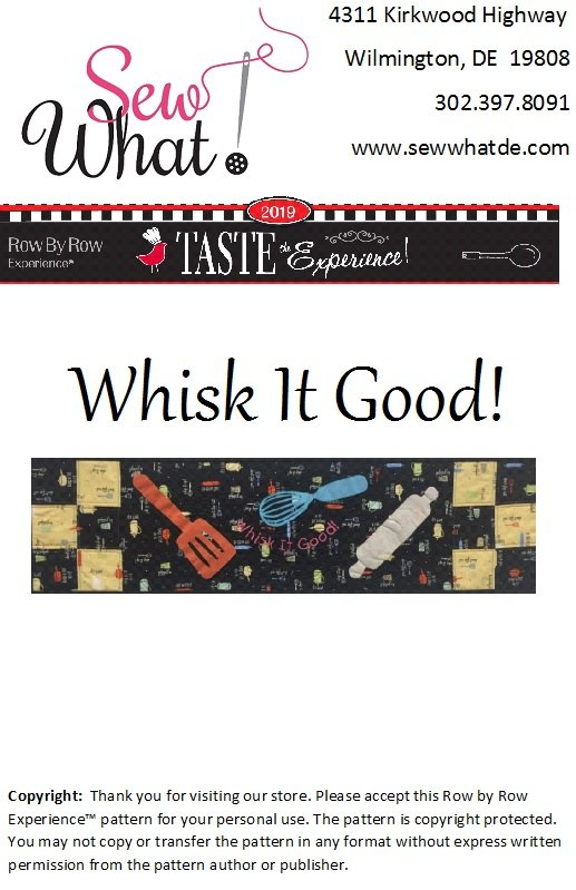 Whisk It Good Pattern Only