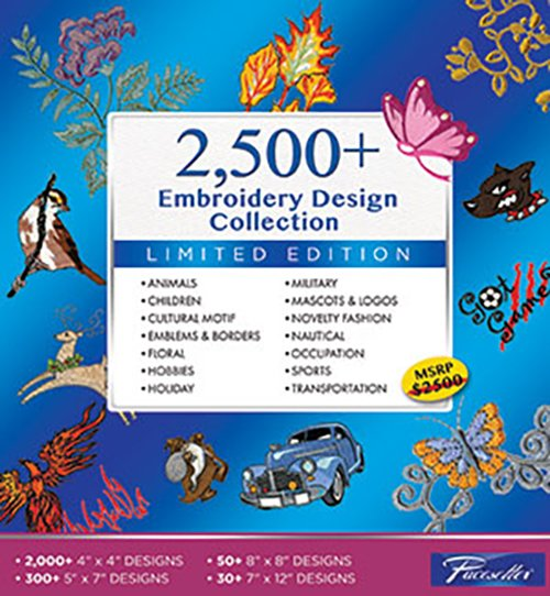 Brother 2500+ Embroidery Design Collection