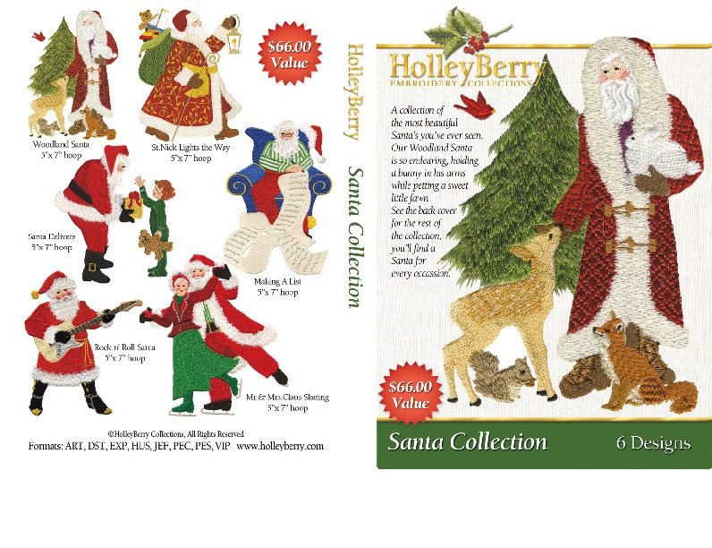 Santa Collection Digital Download