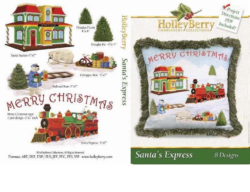 Santa's Express Digital Download