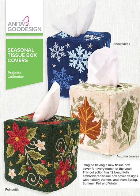 Seasonal Tissue Box Covers Projects Collection