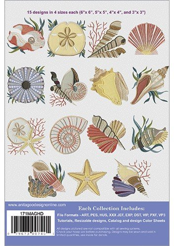 Shells Embroidered Additions Mini Collection