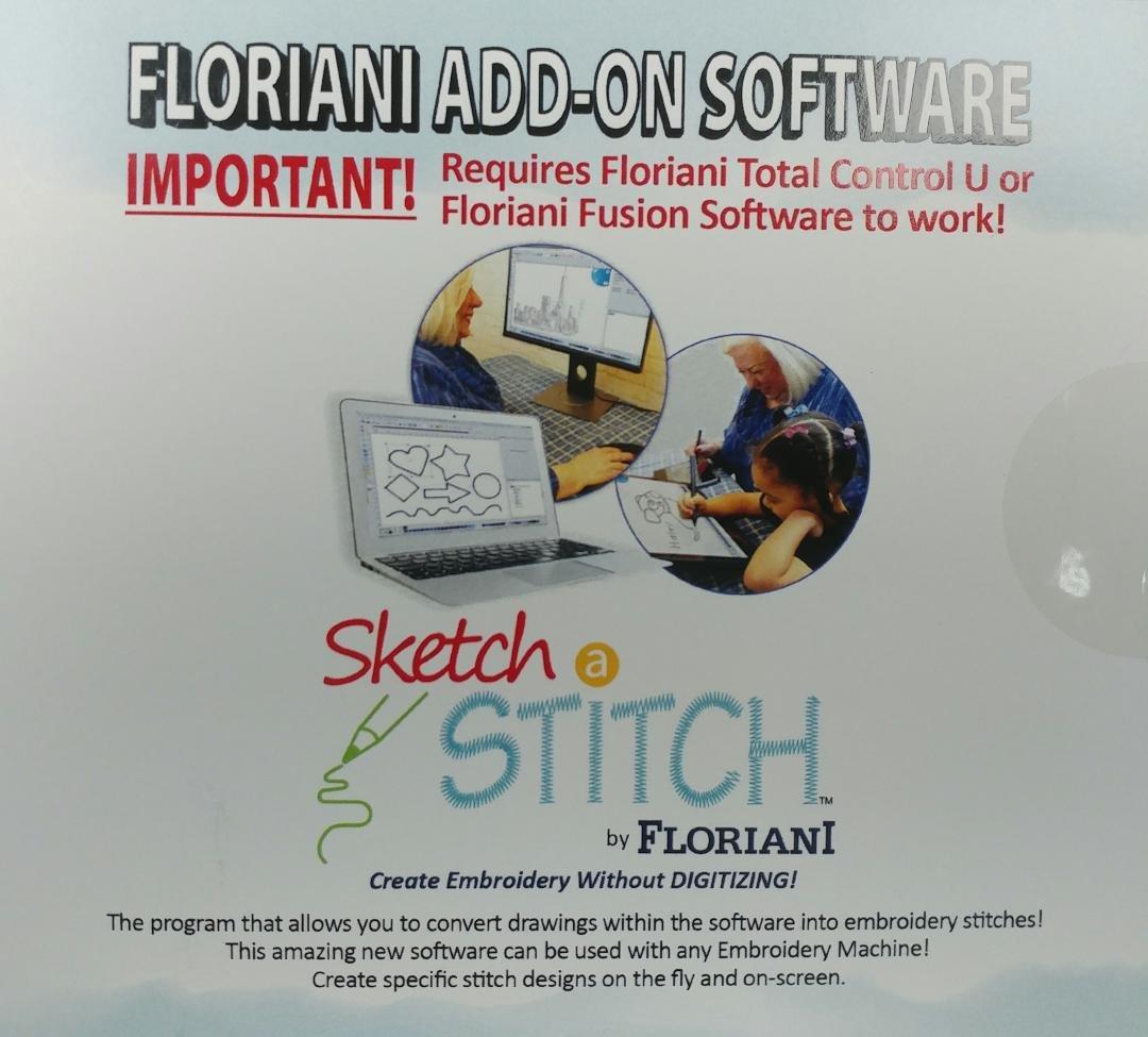 Floriani Sketch a Stitch Add-On