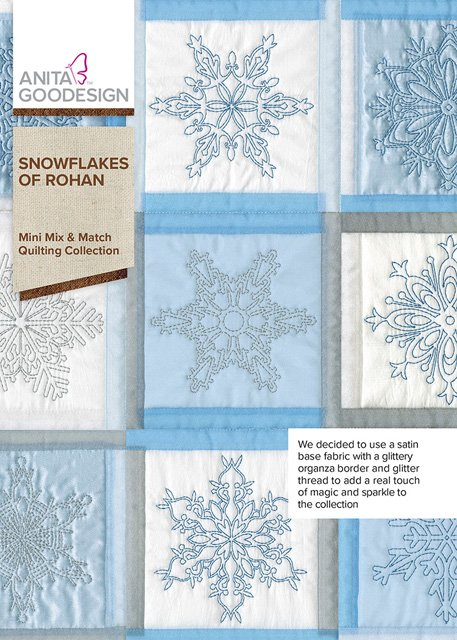 Snowflakes of Rohan Mini Mix & Max Quilting Collection
