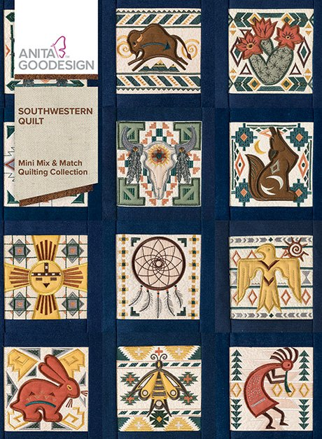 Southwestern Quilt Mini Mix & Match Quilting Collection