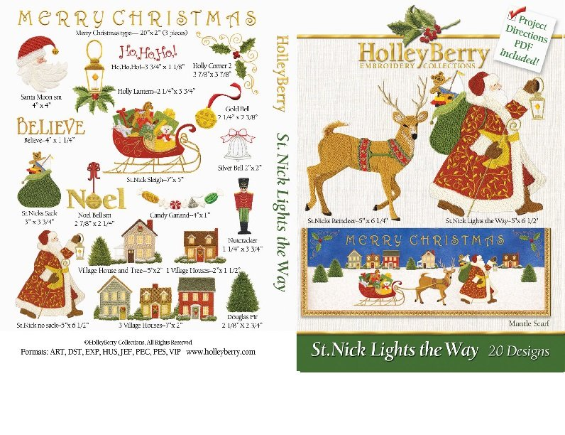 St. Nick Lights the Way Digital Download