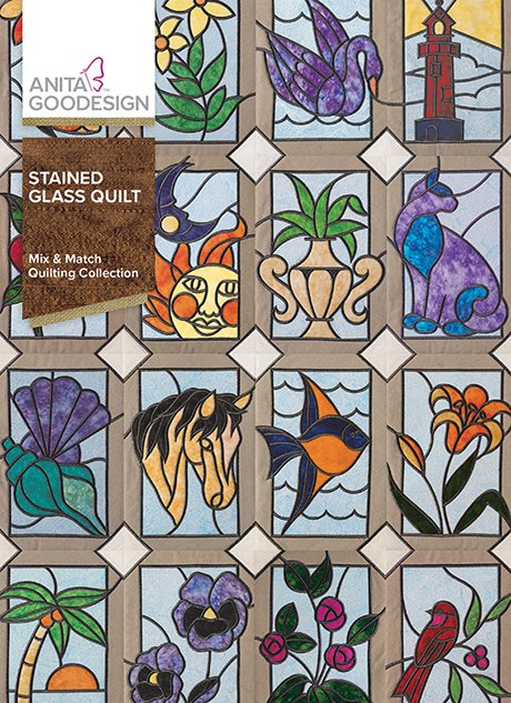 Stained Glass Quilt Mix & Match Quilting Collection