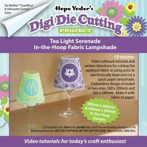 Digi Die Cutting Project Tea Light Serenade