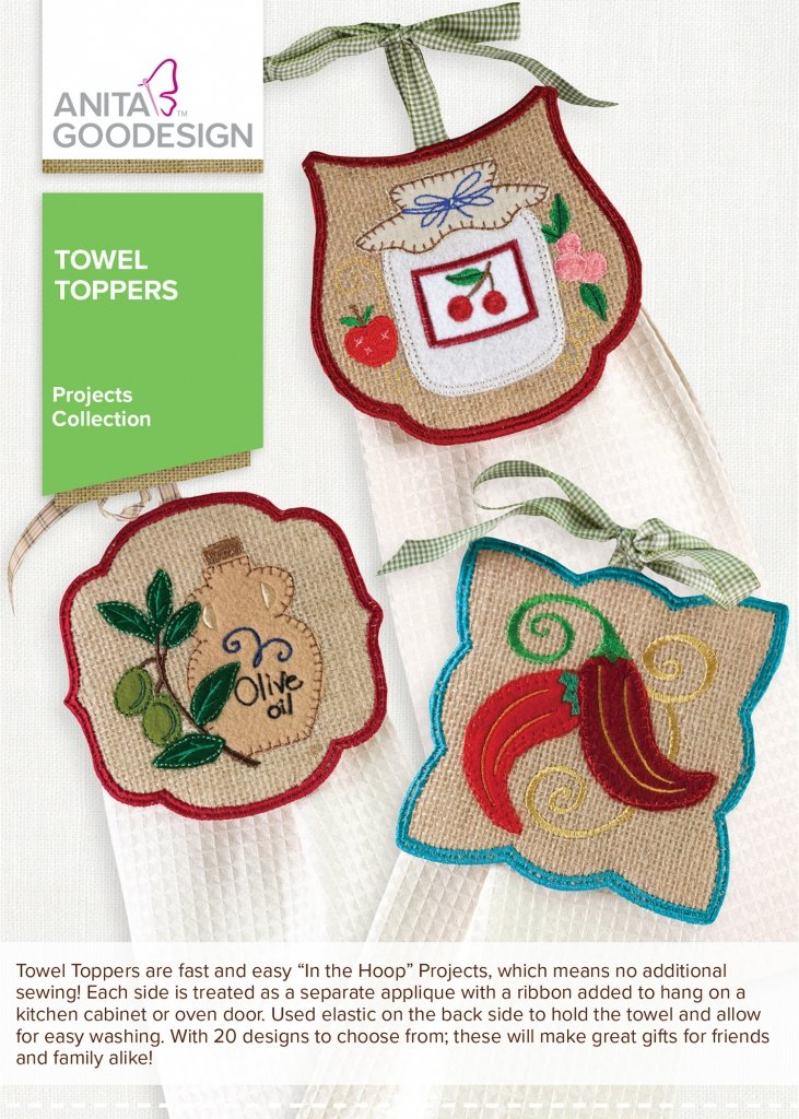 Towel Toppers Projects Collection
