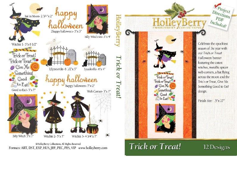 Trick or Treat Digital Download