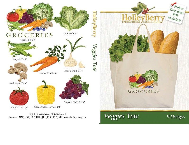 Veggies Tote Digital Download