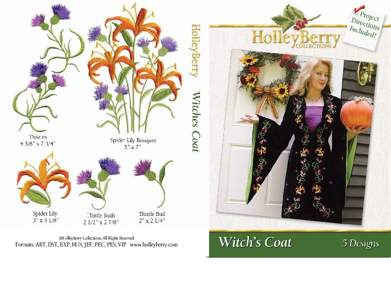 Witch's Coat Digital Download