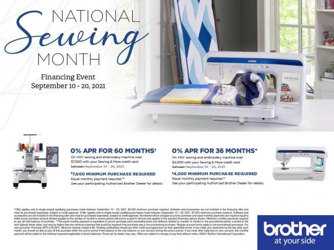 Brother September 2021 Promotion