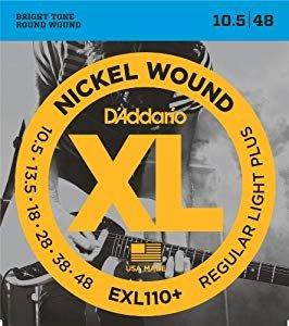 D'Addario Electric Regular Light Plus XL 10.5-48