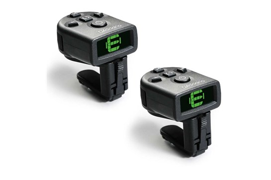 Planet Waves PW-CT-12 NS Micro Headstock Tuner Twin Pack