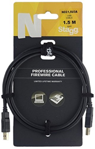 Stagg USB 3.O CABLE 1.5M, 5FT